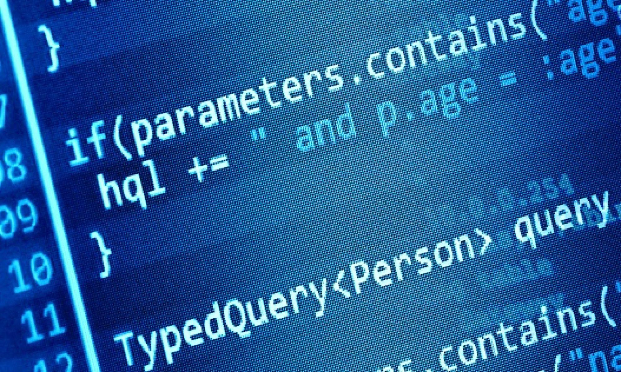 We do code